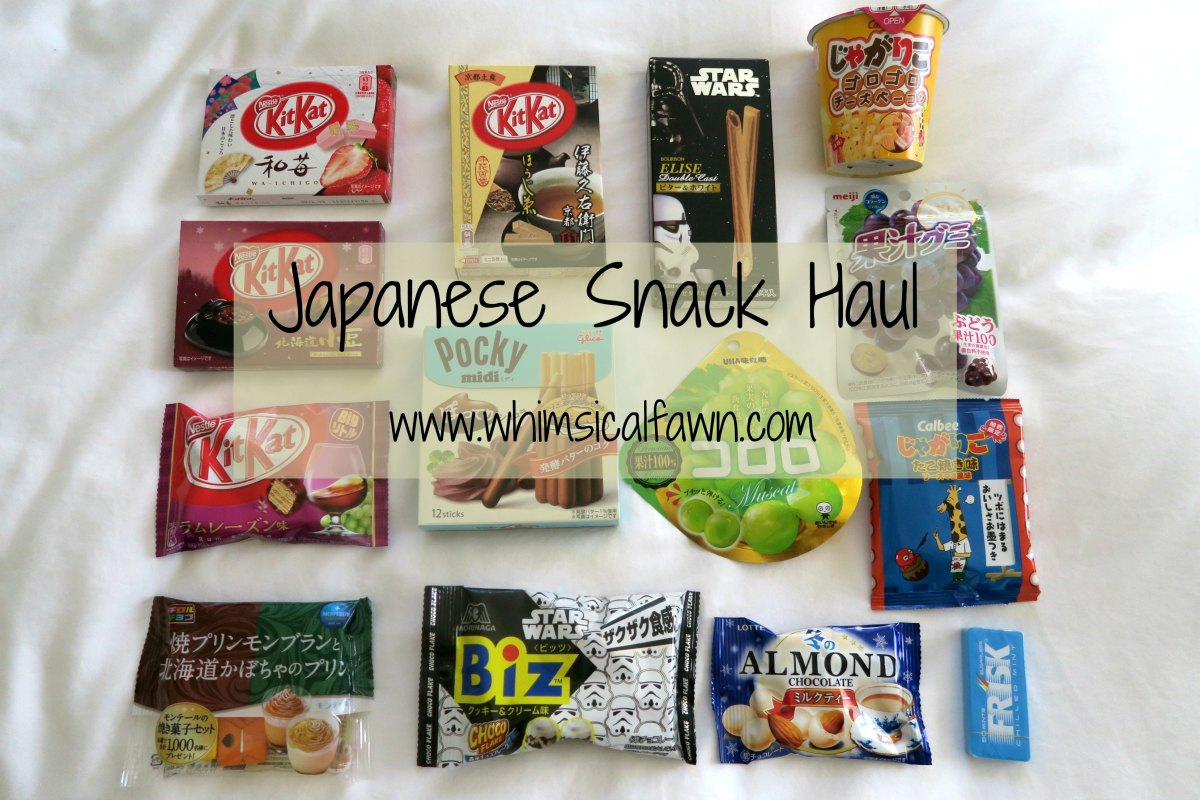 Japanese Snack Haul