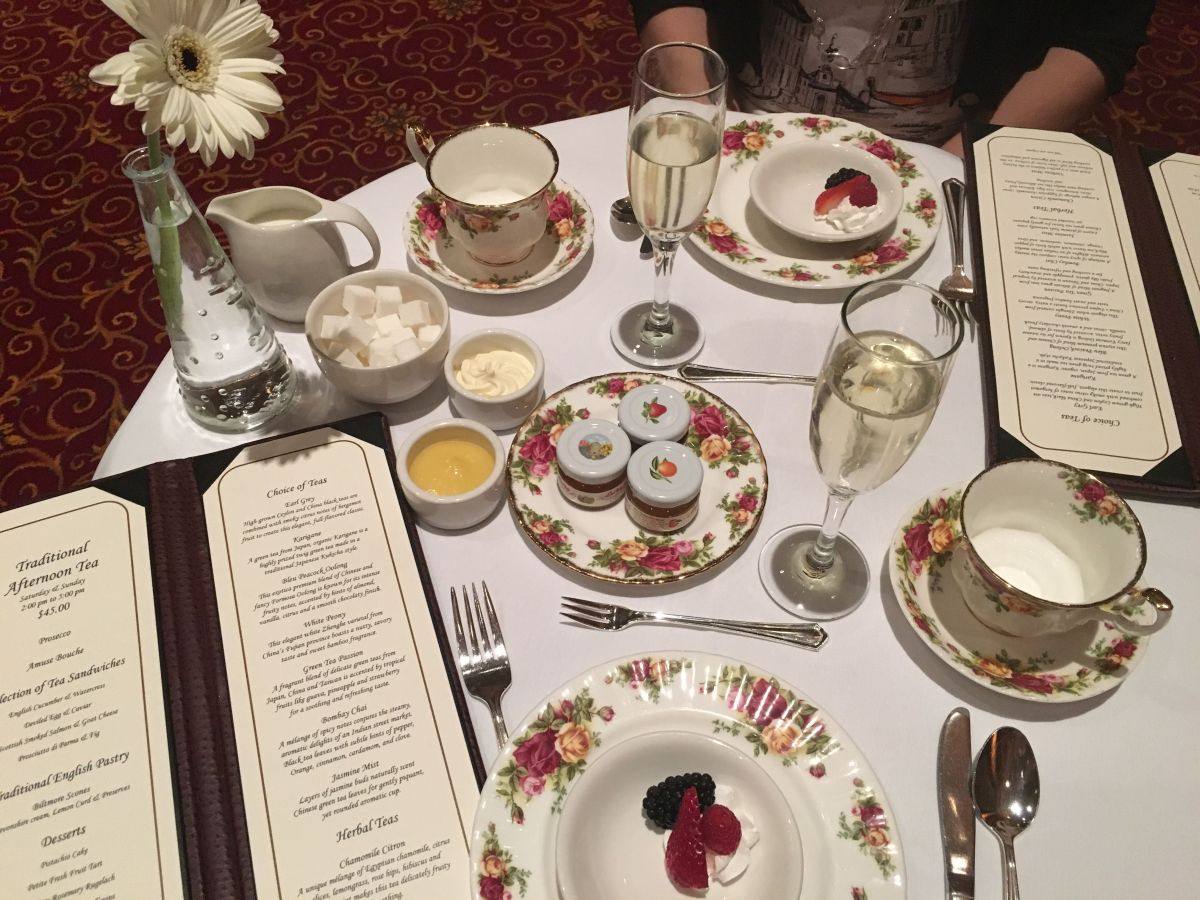 Mother's Day Afternoon Tea at the Millennium Biltmore Hotel