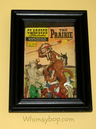 frame - cowboys & indian toys