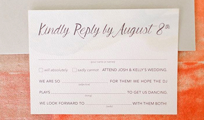 Everything You Need to Know About Your Wedding RSVPs - Whimsy Design