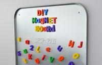 DIY Magnet Board - Whisking Mama