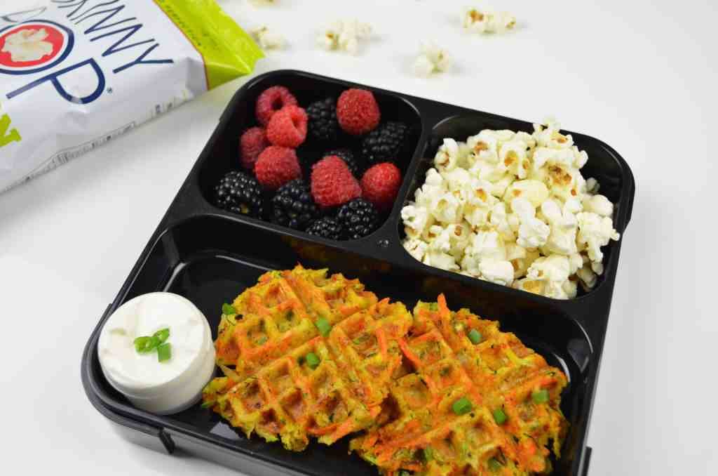 Meal Prep Idea with Waffled Veggies
