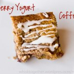 Cranberry Yogurt Coffeecake