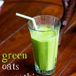 Green Oats Smoothie