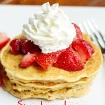 Strawberry Lemon Pancakes