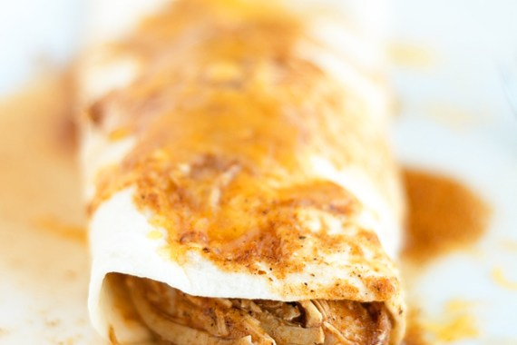 Simple Chicken Enchiladas and Pressure Cookers