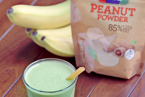 Peanut Butter Spinach Smoothie