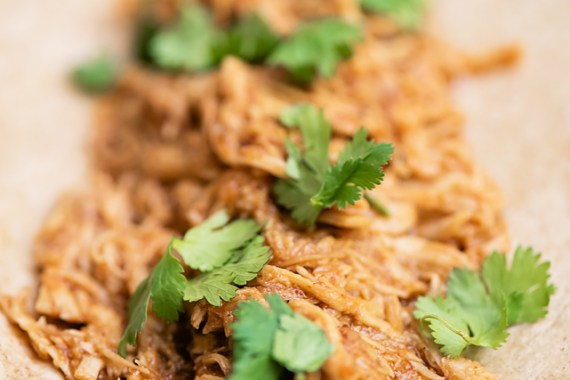 Super Fast (NO Forks!) Shredded Chicken