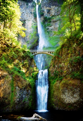 Multnomah Falls Oregon Winter Wallpaper Multnomah Fallswhispering Woods Resort