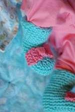 Simple Newborn Boots
