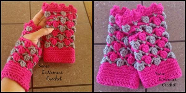 Floating-Petals-Fingerless-Gloves-Same-DiNamics-Crochet - Whistle