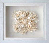 Art: Flower ClusterWhite Cabana | White Cabana