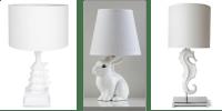 Marketplace: Animal Lamps | White Cabana