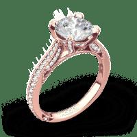 Tacori HT2627RD RoyalT Diamond Engagement Ring ...
