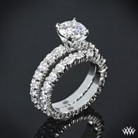 """Diamonds for an Eternity"" Diamond Wedding Set | 1491"