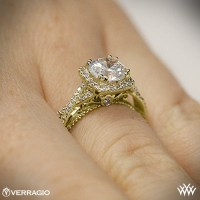 The gallery for --> Yellow Gold Engagement Rings On Hand