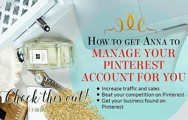 Pinterest Account Set-Up \ Management - White Glove Social Media - standard service contract