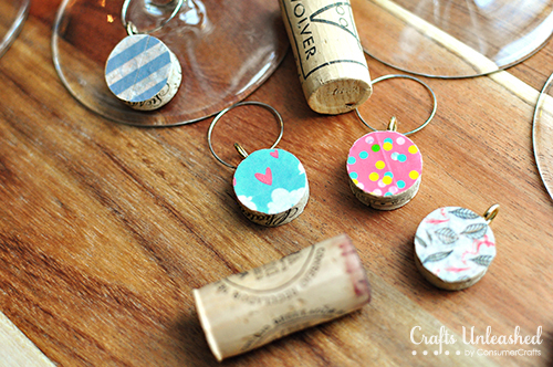 Washi-tape-wine-charms