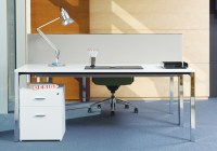 04- Crome Desk - Foresquare - Front On
