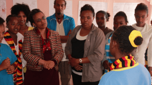 Training as part of the UK Girls Education Challenge in Ethiopia