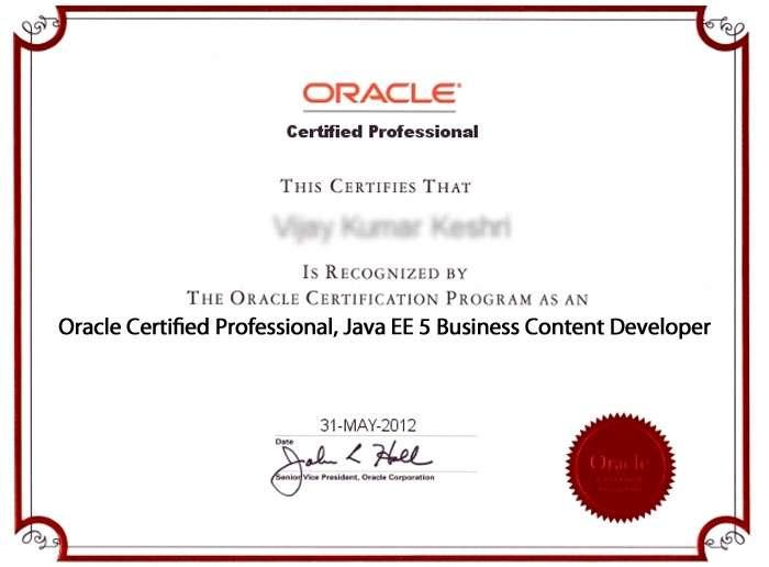 OCPJBCD/SCBCD 5 (Sun Certified Business Component Developer