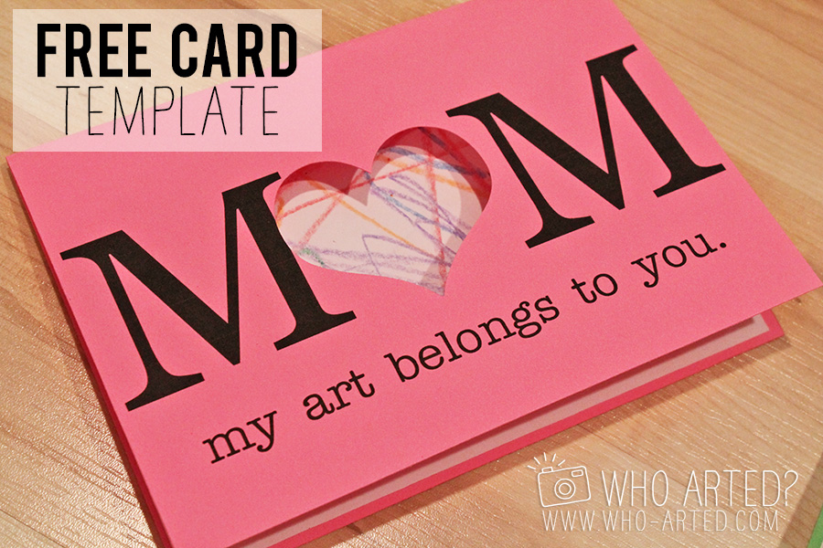 Mother\u0027s Day Cards (Fun Art Project!)