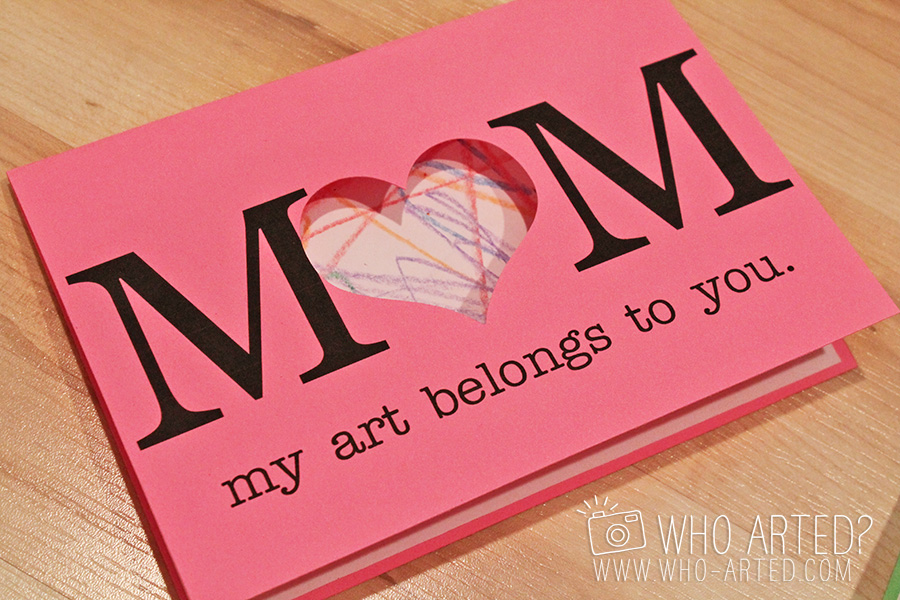Mother\u0027s Day Cards (Fun Art Project!) - mother sday cards
