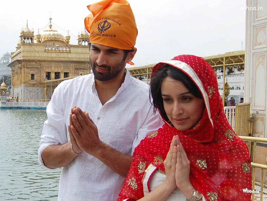 Vidya 3d Name Wallpaper Aditya Roy Kapoor Nd Shraddha Kapoor In Punjab