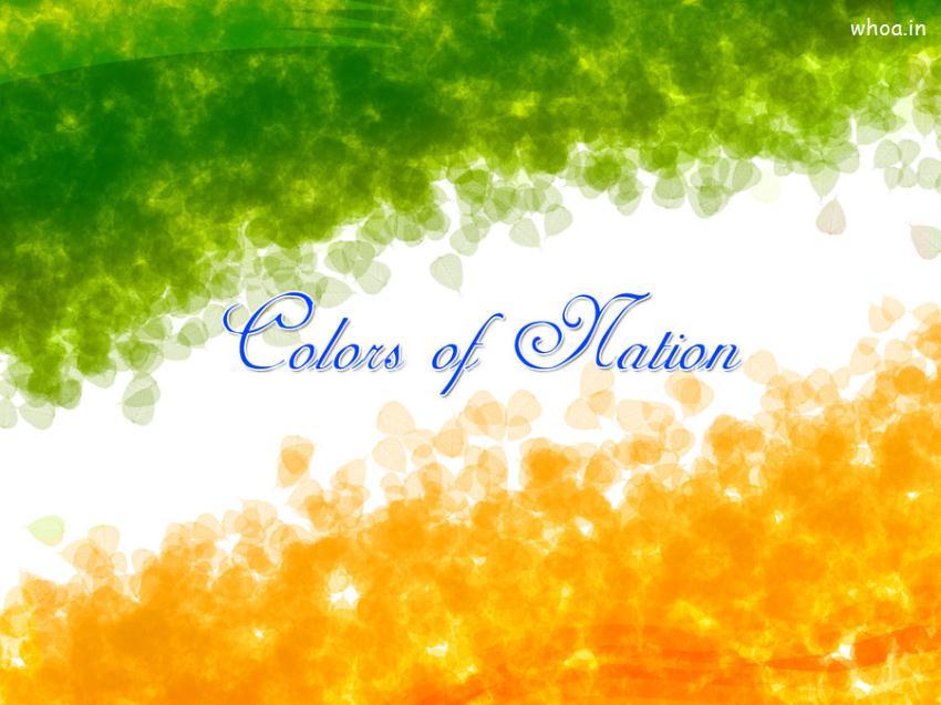 Holi Wallpaper 3d Colors Of Nation Indian Flag Wallpaper