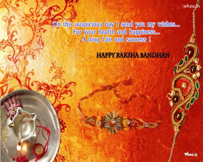 Friendship Day Hd Wallpaper With Quotes Happy Raksha Bandhan Red Hd Wallpaper