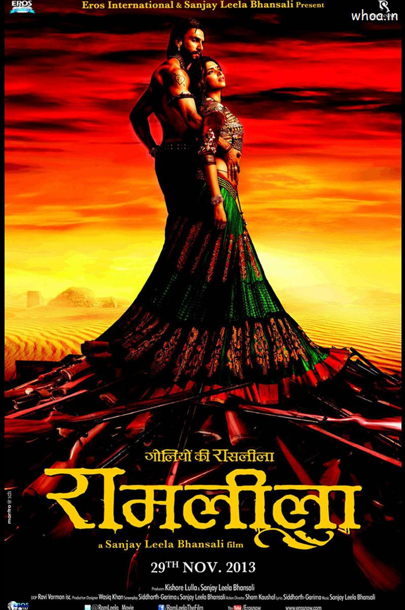 Hindi Romantic Love Wallpapers With Quotes Ramlila Movie Poster
