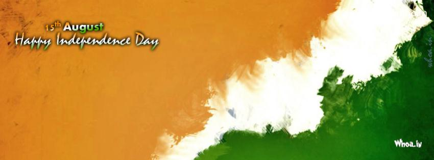 Happy Friendship Day 3d Wallpaper Creative Indian National Flag Oil Painting Art Facebook Cover