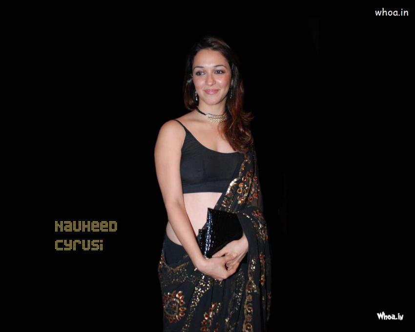 Ganesh Chaturthi Wallpapers 3d Nauheed Cyrusi Transparent Black Saree