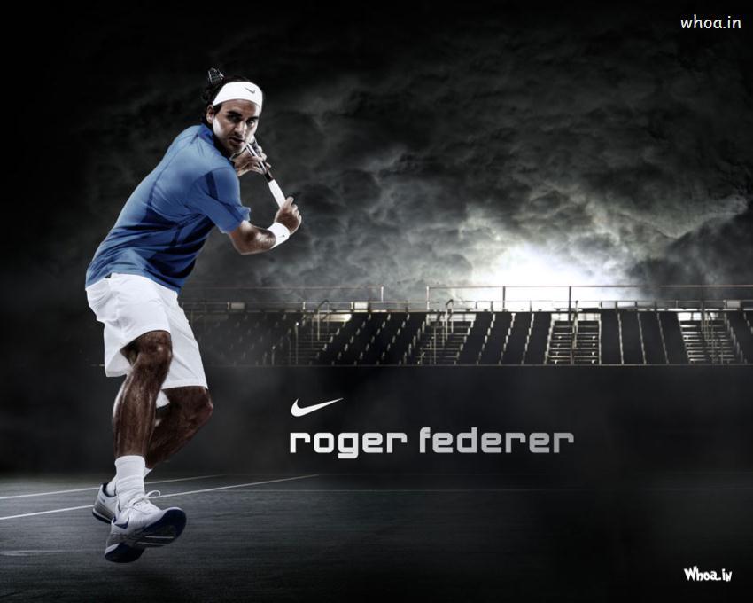 Krishna And Radha 3d Wallpaper Roger Federer Dark Hd Wallpaper