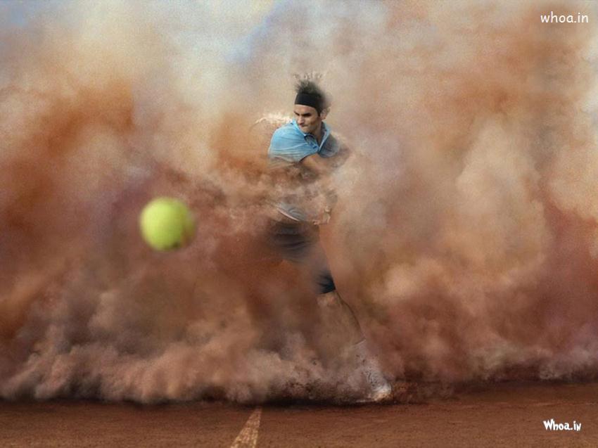 God Ganesh Hd 3d Wallpaper Roger Federer Tennis Player Hd Wallpaper