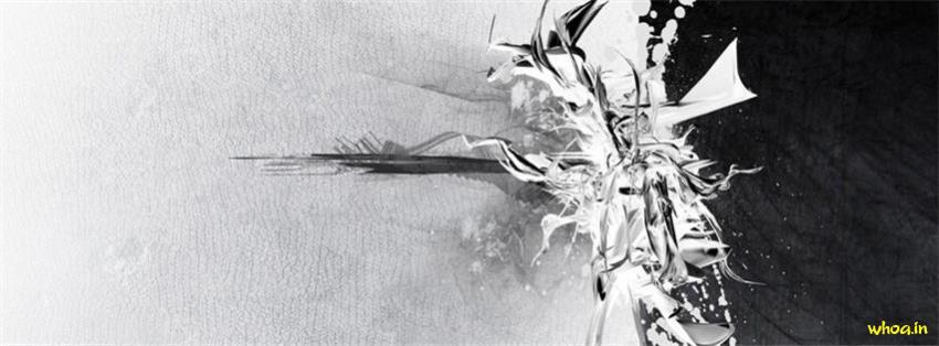 Salman Khan 3d Wallpaper White And Black Abstract Art Fb Cover