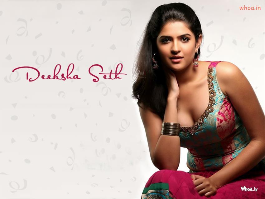 Cute Indian Baby Wallpapers Deeksha Seth In Hot Pink Dress