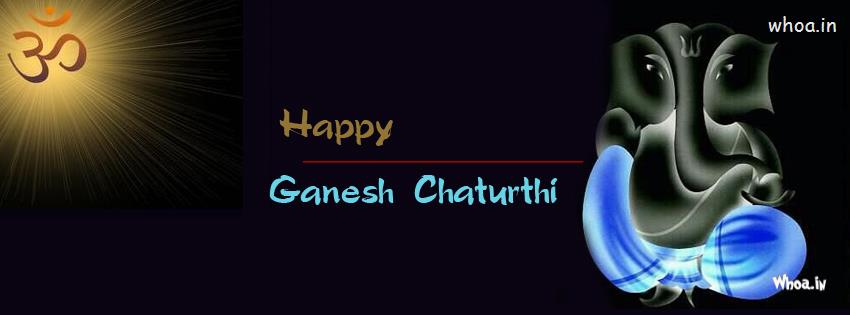 Love Romantic Wallpapers With Quotes Happy Ganesh Chaturthi Blue And Dark Fb Cover