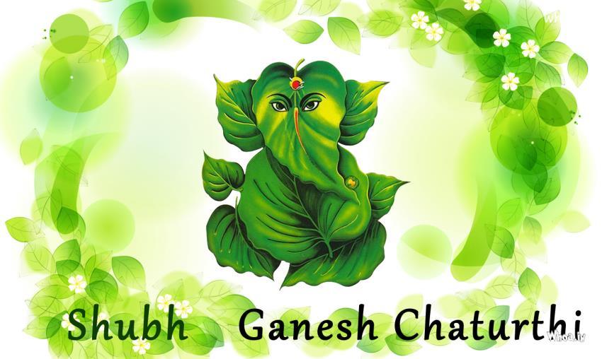 Ganpati 3d Wallpaper Subh Ganesh Chaturthi Natural Wallpaper