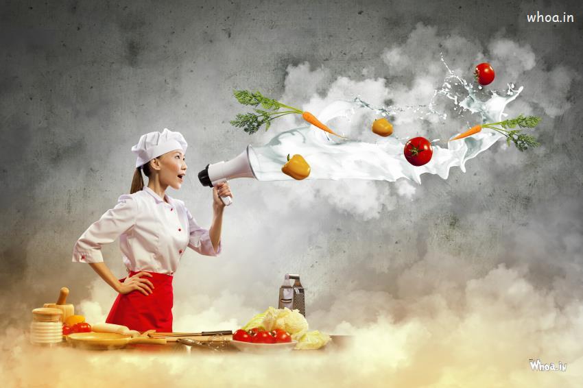 Shivaji Maharaj Hd Wallpaper For Pc Chef Fun With Vegetable Hd Wallpaper