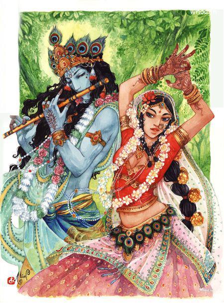 Hanuman 3d Live Wallpaper Free Download Lord Radha Krishna Creative Hand Painting Photo