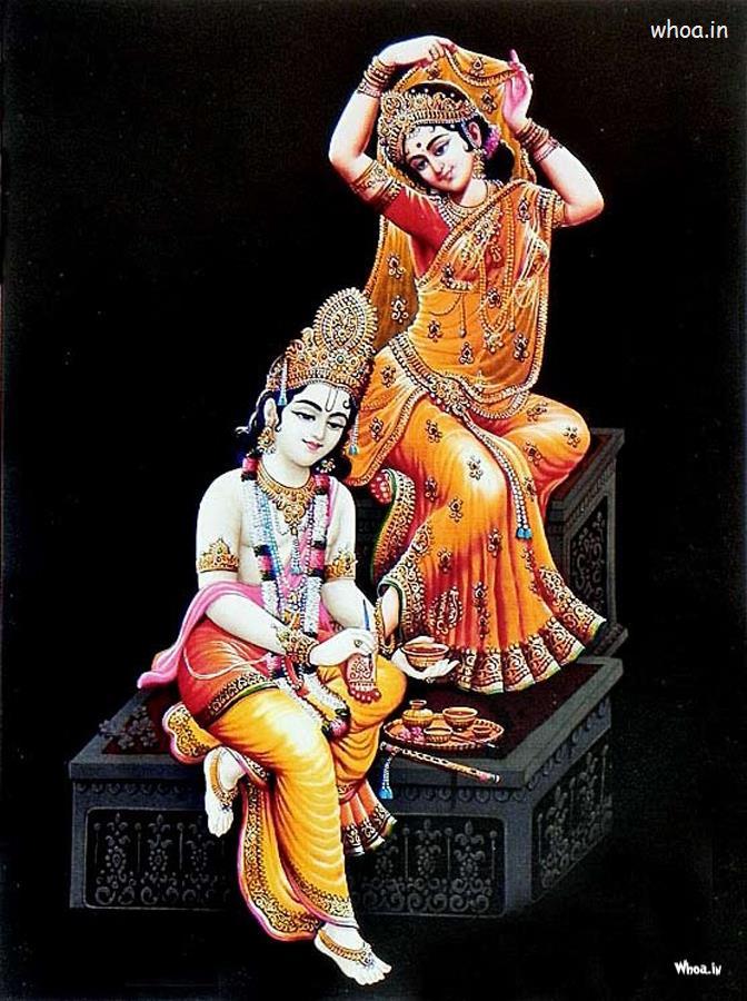 Hindu God Krishna Wallpaper 3d Radha And Krishna Photos 3