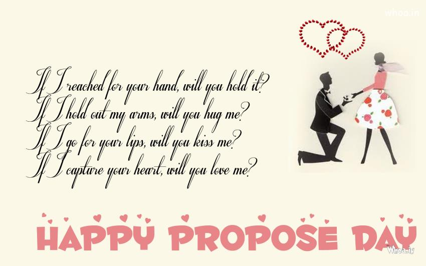 Boy Proposing Girl Hd Wallpaper Happy Propose Day Quotes 2015 New Quotes