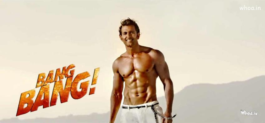 Shiva Quotes Wallpaper Bang Bang Bollywood Film 2014 Movie Poster With Hrithik