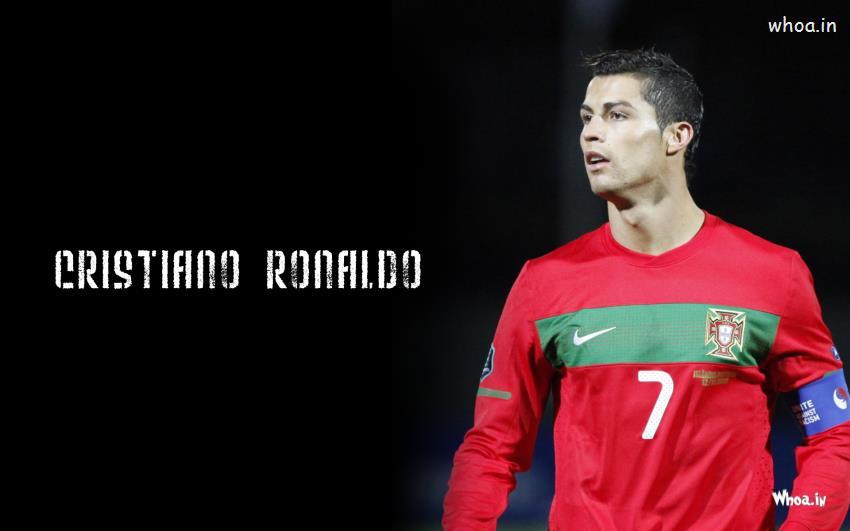 Cristiano Ronaldo Quotes Wallpaper Hd Cristiano Ronaldo In Black Background