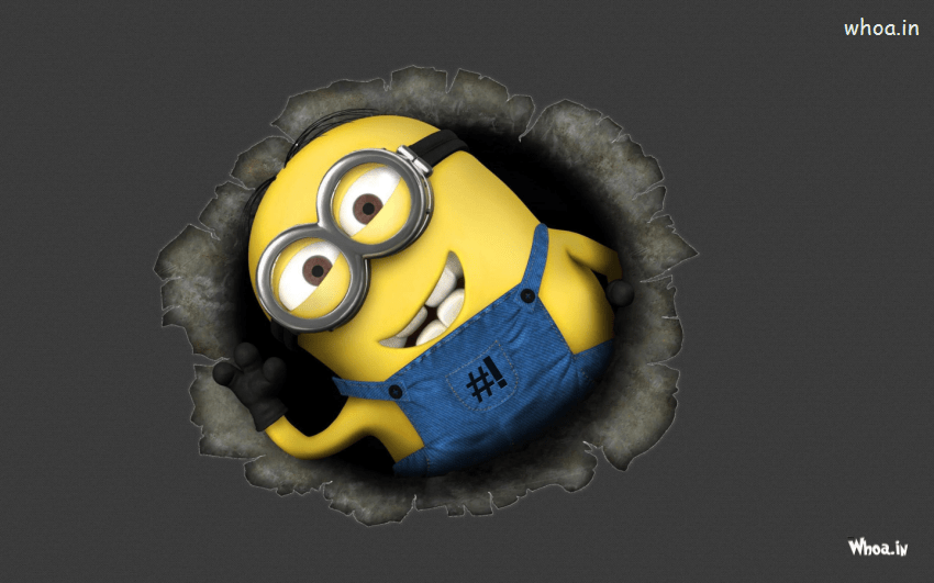 Dynamic Wallpaper For Iphone 7 Plus Despicable Me Minions With Dark Background Hd Wallpaper