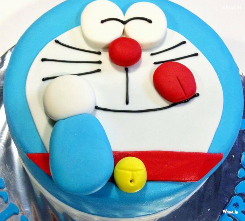 Lord Krishna Animated Wallpapers Hd Doraemon Birthday Cake Hd Wallpaper