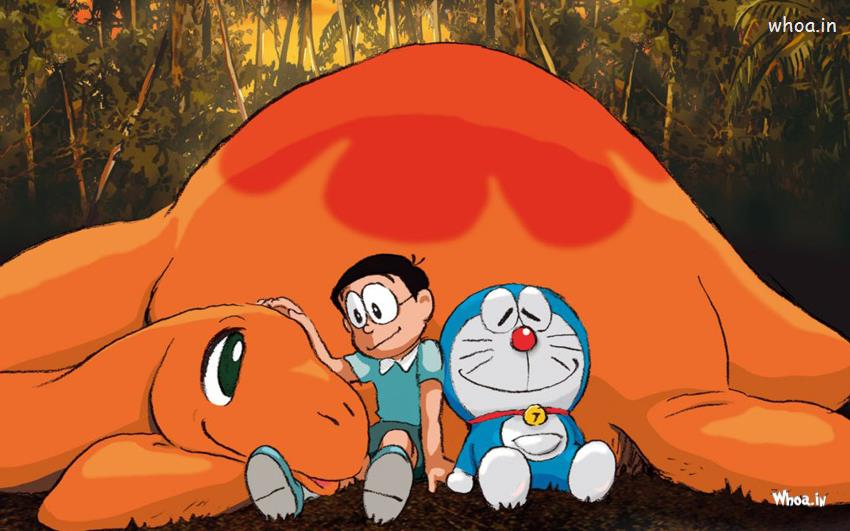 God Krishna Hd 3d Wallpaper Doraemon Sleep With Orange Dragon Hd Wallpaper
