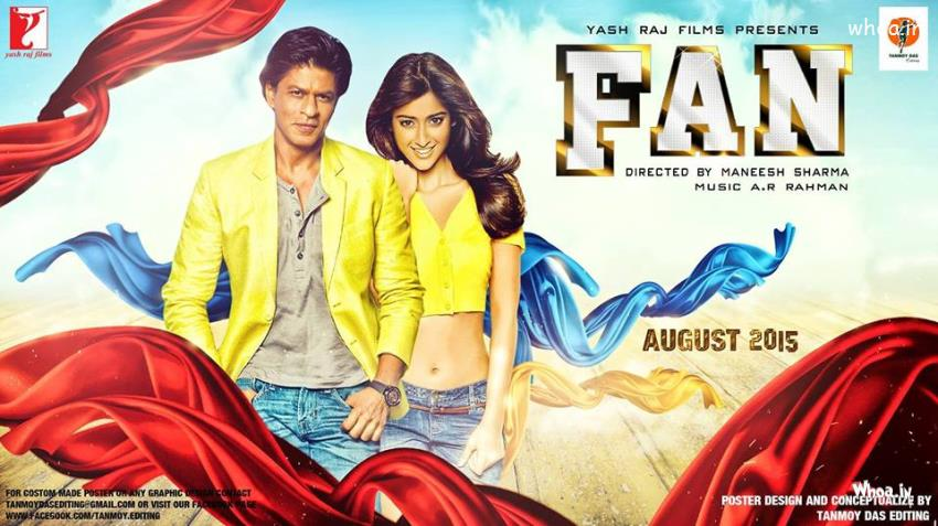 Srk 3d Wallpaper Fun Shahrukh Khan New Upcoming Hd Movie Poster 2015