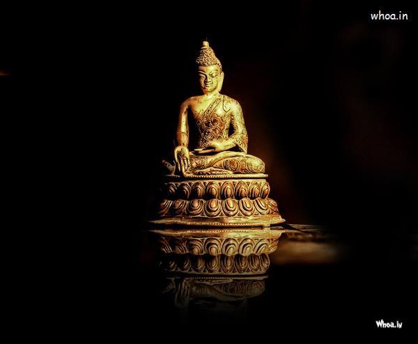 Panchmukhi Ganesh Wallpaper Hd Lord Buddha Art With Dark Background Wallpaper